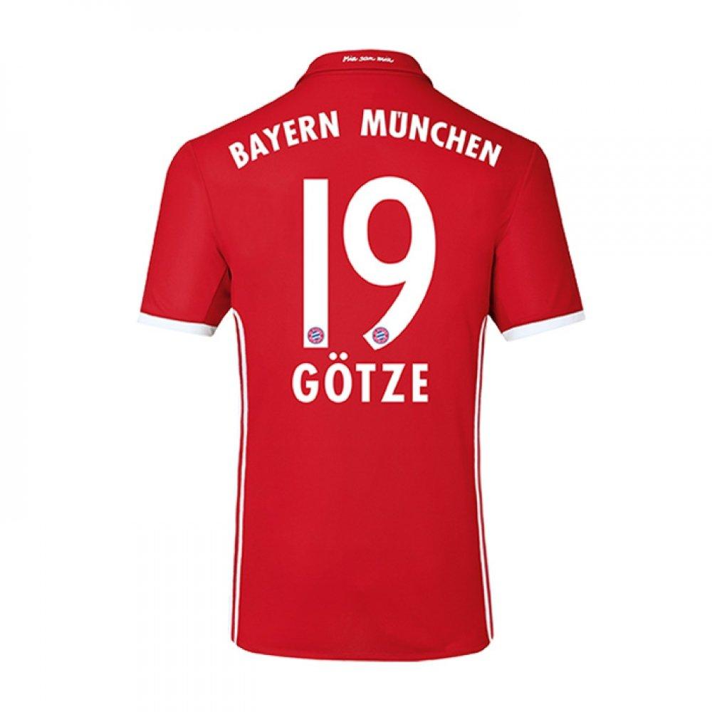 201718 Camisetas De Fútbol Bayern Munich 19 Gotze Home Para