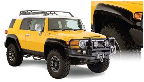 (Bushwacker (B/W-WOW-626) Extend-A-Fender Flares - Fits Toyota FJ Cruiser 2010-2011)