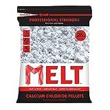 Snow Joe MELT25CCP MELT 25 Lb. Resealable Bag Calcium Chloride Pellets Professional Strength Ice Melter