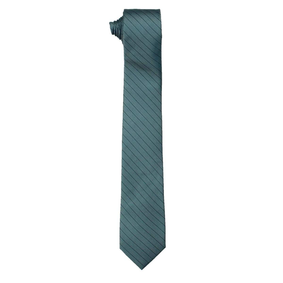 Calvin Klein - Corbata de seda para hombre - Azul - talla única ...