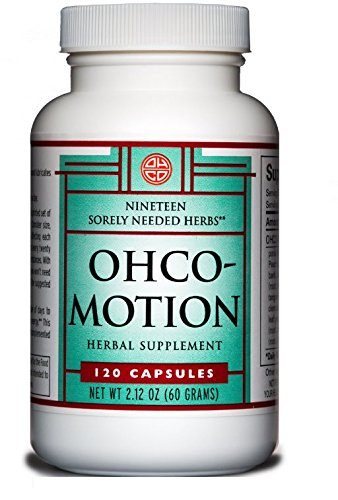 OHCO MOTION 120 Capsules - Natural and Herbal Nutritional Dietary Supplement - Take Pre-Workout, Post-Workout - Energy Boost - Support for Active, Growing and Aging Bodies