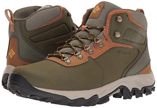 Columbia Men's Newton Ridge Plus II Waterproof Hiking Boot, nori, Dark Banana, 7 Regular US by Columbia (Image #6)