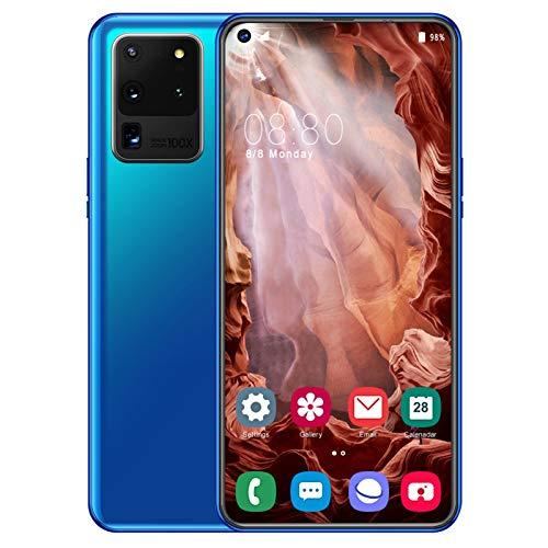 5G Mobile Phone, S20u Smartphone SIM Free Phones Unlocked, 6.7 Inch Waterdrop Screen, 5G Dual SIM, 10GB RAM+512GB ROM…