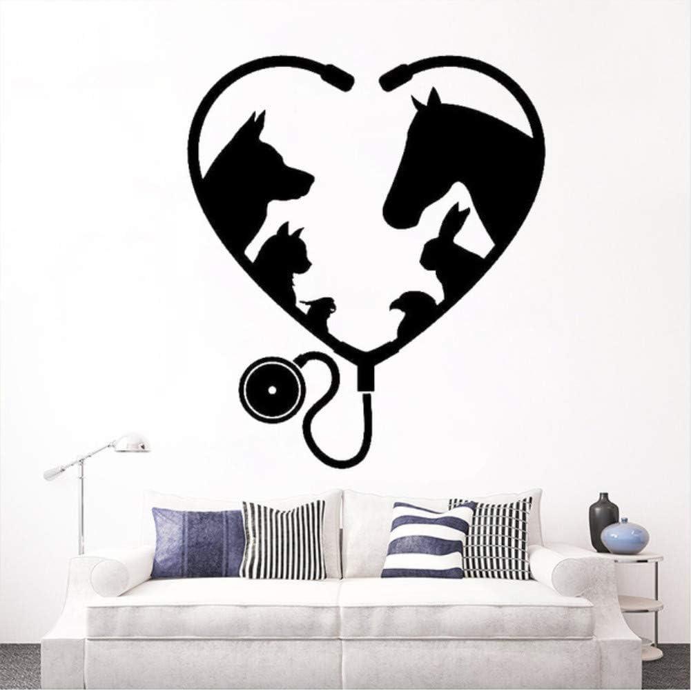 Peluquería Salón Ventana Tatuajes de Pared Animal Mascota Medicina ...