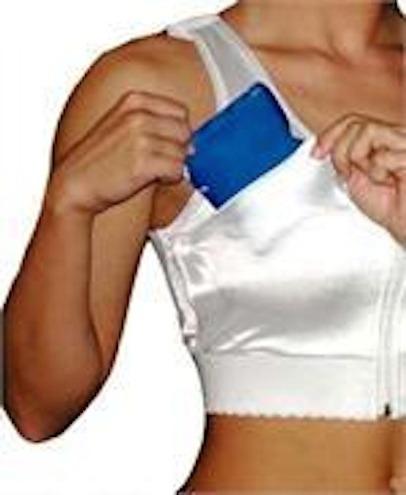 Augmentation Bra with Ice Pouches (2X Bust 44-46 B/C)