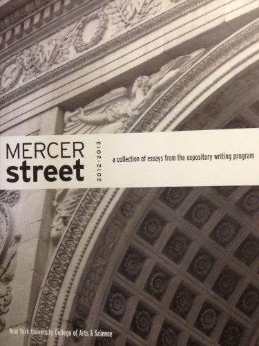 Mercer Street 2012-2013