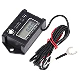KKmoon LCD Digital Tachometer Tach/Hour Meter RPM Tester for 2/4 Stroke Engine Motorcycles
