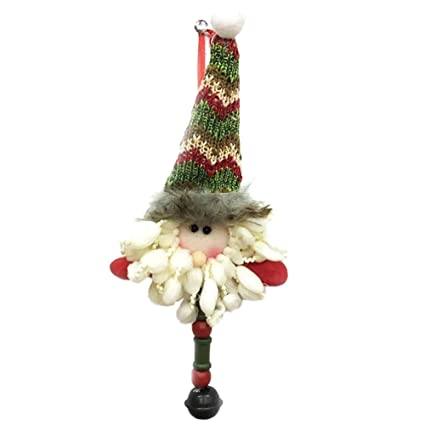 christmas ornaments decoration christmas decorations with lovely santa claus snowman doll christmas tree decoration hanging pendants - Amazon Christmas Tree Decorations
