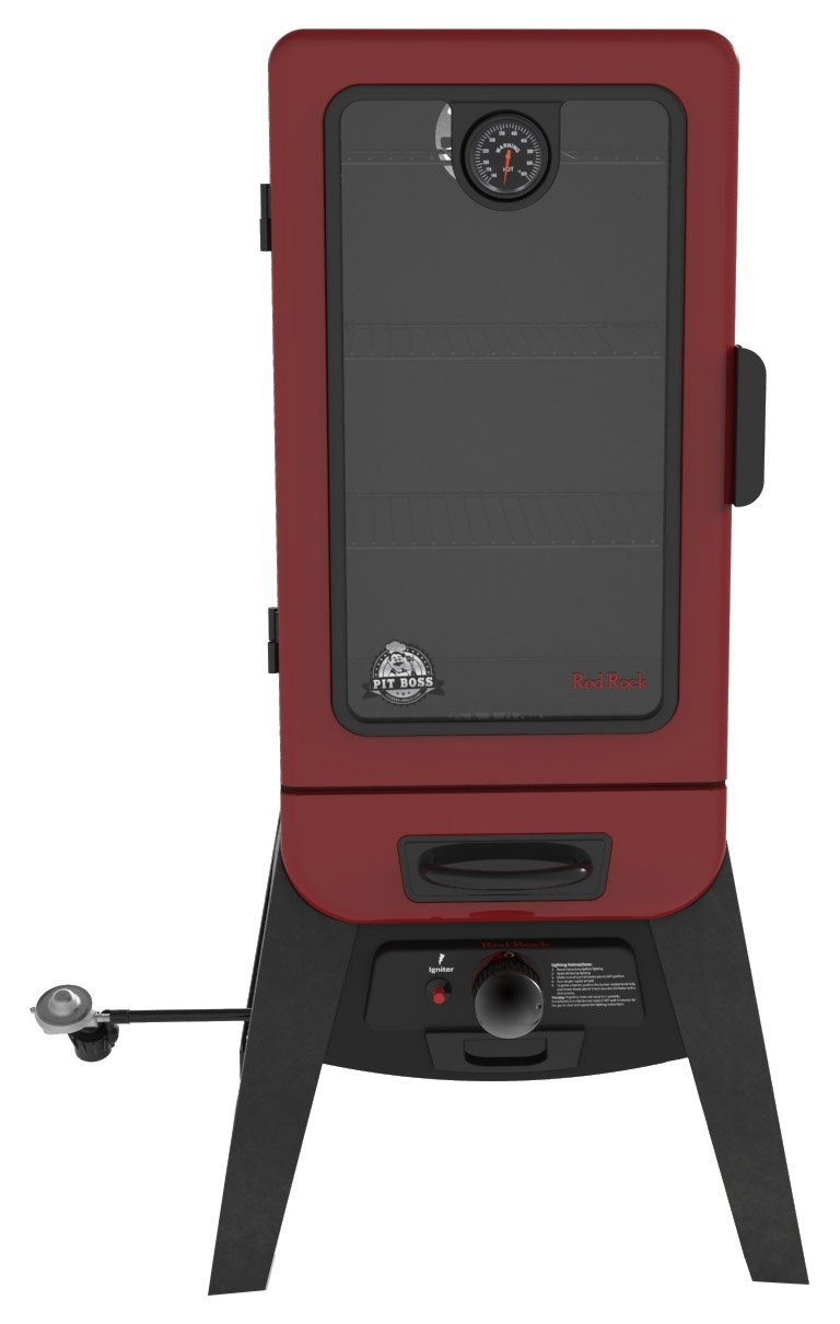 Pit Boss Grills 77435 Vertical Lp Gas Smoker by Pit Boss Grills