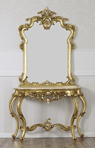 Simone Guarracino Consolle con specchio stile Barocco Francese ...