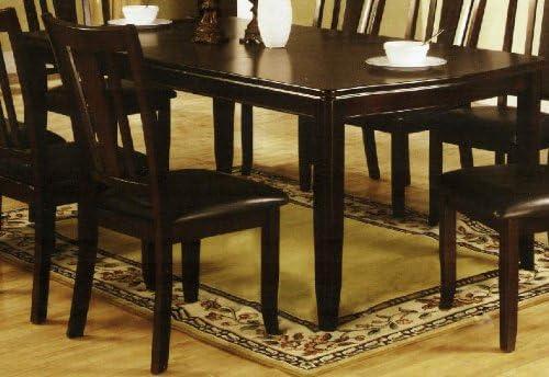 William s Home Furnishing CM3336T Edgewood I Dining Table, Espresso