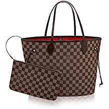 .LOUIS VUITTON Damier Ebene Canvas Neverfull MM