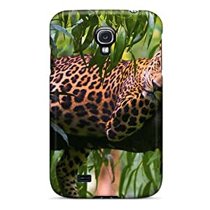 Tough Galaxy IepwfsT622xPJmL Case Cover/ Case For Galaxy S4(leopard Relax)