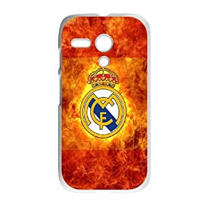 Motorola Moto G Phone Case With Classic Images Real Madrid