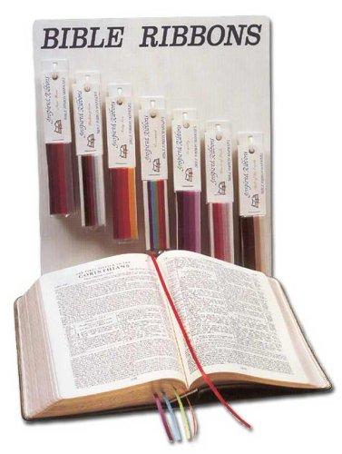 Ribbon Bookmark (1 X New Wine Ribbon Marker)