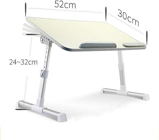 Mesa plegable con mesa de escritorio portátil, soporte de portátil ...