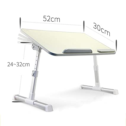 """24/"""" Portable Laptop Desk Lap Table Stand Sofa Bed Tray Computer Notebook Desk"""