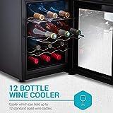 Belwares 12 Bottle Wine Cooler - Countertop Wine