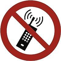 Autocollants pour Téléphonie mobile selon interdit ASR A1.3/DIN