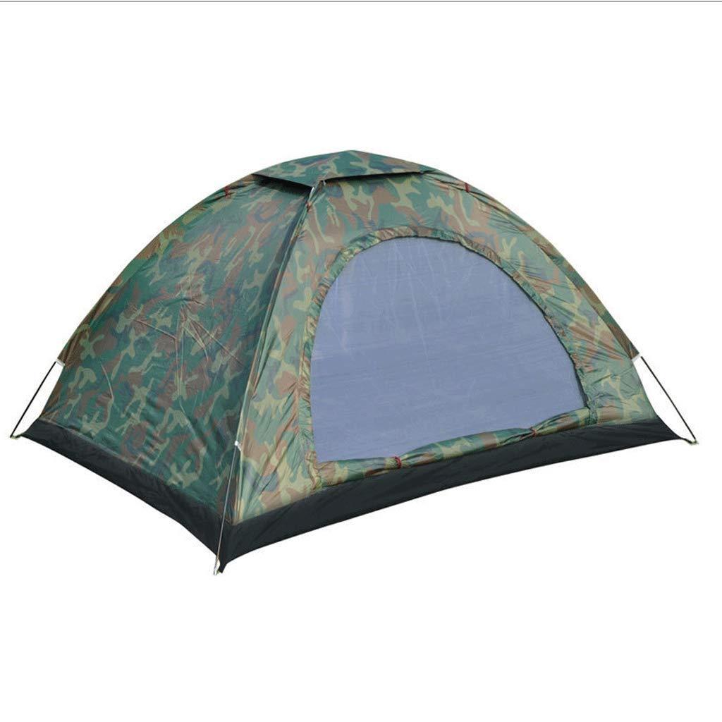 WSGZH Zelt-einzelnes Doppeltes Campingzelt Im Freien, Wasserdichtes Und Regendichtes Zelt-Set Im Freien