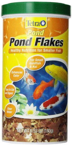 TetraPond 16210 Flaked Fish Food, 6.35-Ounce, 1-Liter (Fish Food Koi compare prices)