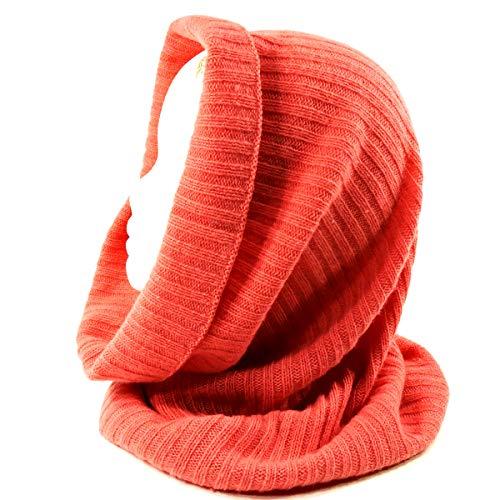 ⚜PORTOLANO⚜ WOMEN'S PINK 100% CASHMERE WINTER hood - Cashmere Portolano