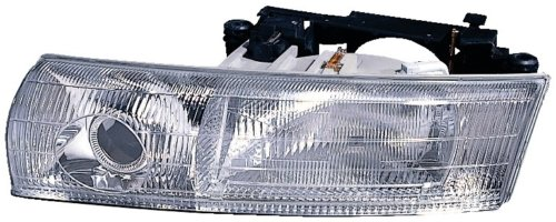 Aftermarket Replacement Headlight Clear Headlamp Assembly Front Driver Side Left LH ()