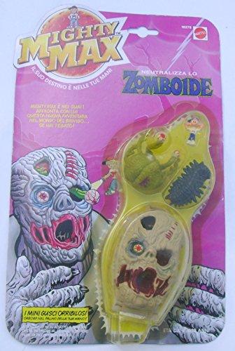 Mighty Max Horror Heads Zomboid Bluebird Italian edition