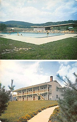 Homowack Lodge Pool Spring Glen, New York, Postcard