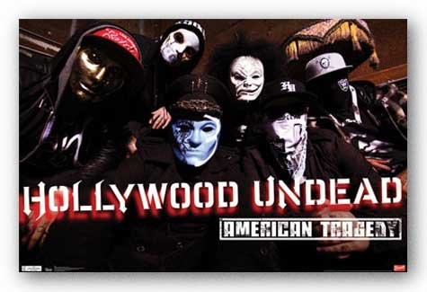 Hollywood Undead American Tragedy Music Poster Print