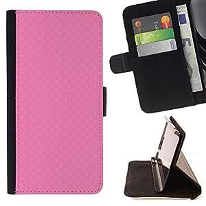 For Samsung Galaxy A5 ( A5000 ) 2014 Version Case , Lindo textura de color rosa- la tarjeta de Crédito Slots PU Funda de cuero Monedero caso cubierta de piel