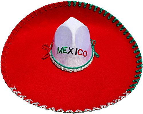 [Authentic Mariachi Mexico Hat Jaripeo Mexican Sombrero Adult Size Made in Mexico (Assorted Colors Available)] (Mens Mariachi Halloween Costume)
