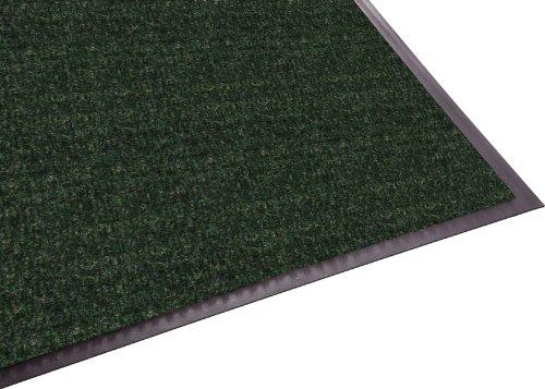 (Guardian Golden Series Hobnail Indoor Wiper Floor Mat, Vinyl/Polypropylene, 3'x10', Green)