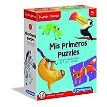 Puzzles forma de animales +2 años
