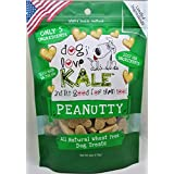 Dogs Love Kale Pea Nutty Pet Snacks,7 Oz.