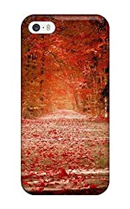 Hot Snap-on Pretty Fall Photo Hard Cover Case/ Protective Case For Iphone 5/5s
