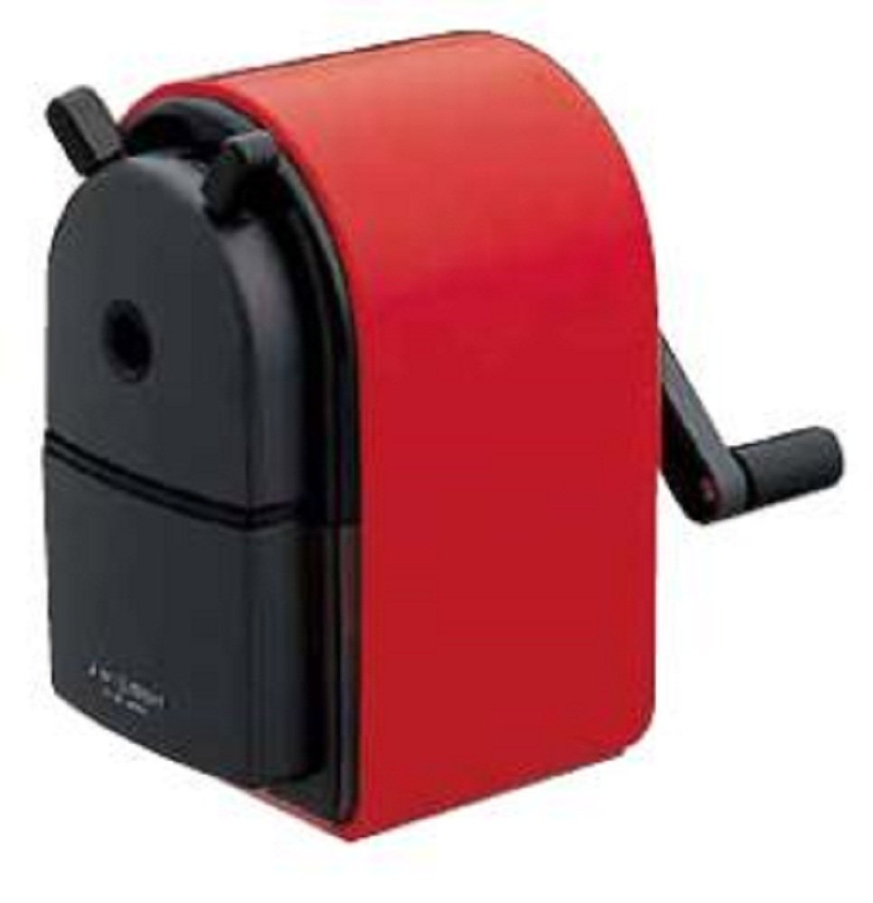 Uni KH-20 Hand Crank Wooden Pencil Sharpener - Red (japan import) Mitsubishi Pencil Co. Ltd. KH20.15