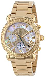 "JBW Women's JB-6210-I ""Victory"" Combo Gold Diamond Watch"