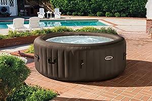 Intex Pure Spa 4-Person Inflatable Portable Heated Jet Massage Hot Tub | 28423E