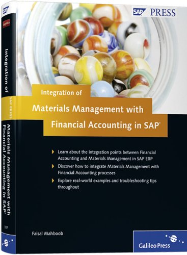 - Integration of Materials Management with Financial Accounting in SAP
