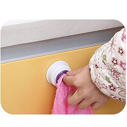 Wash Cloth Clip Holder Dish clout Storage Rack Bathroom Kitchen Storage
