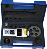 Shimpo DT-207LR-S12 Handheld Tachometer with 12'' Wheel, LED Display, 6 - 99999rpm Range