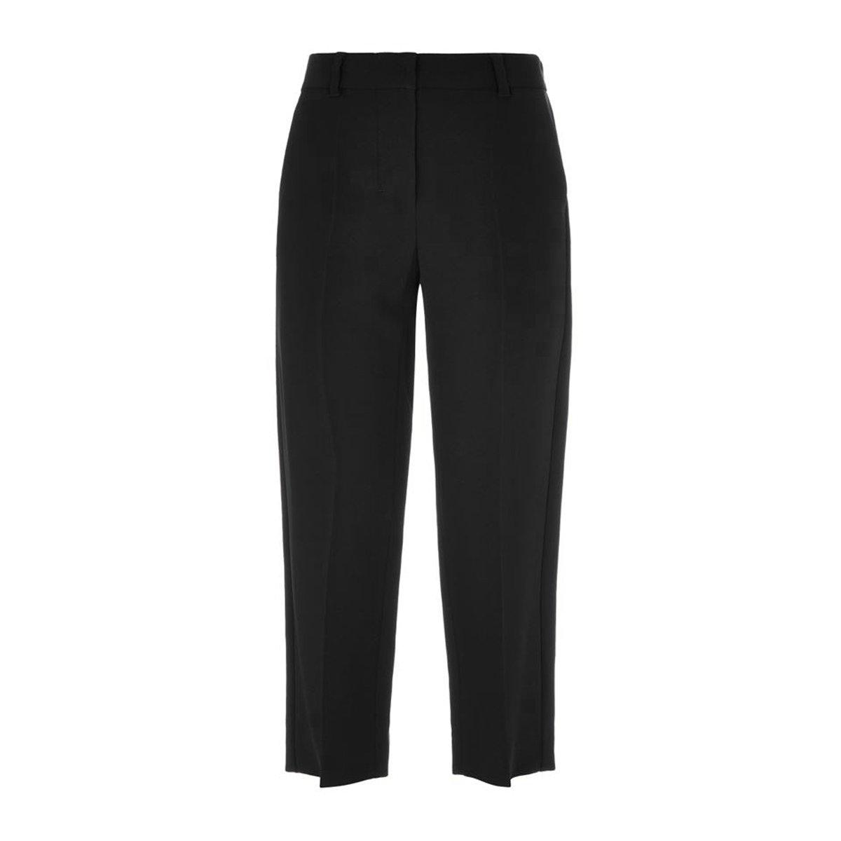 'S Max Mara Women's Alaska Cropped Trousers Sz 6 Black