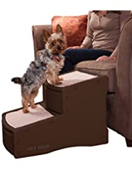 Pet Gear Easy Step II Pet Stairs, 2-step/for cats and dogs up...