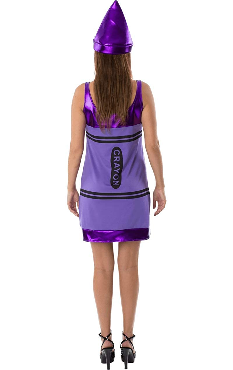 d7f21537567ad Orion Costumes Womens Purple Crayon Fancy Dress: Amazon.co.uk: Toys ...