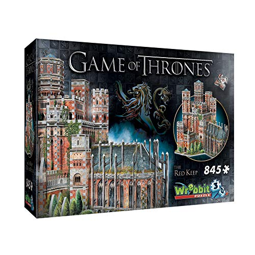 WREBBIT 3D - Game of Thrones The Red Keep 3D Jigsaw Puzzle - 845Piece ()