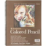 "Strathmore STRATHMORE Colored Pencil PAD 9X12 30SHT 400 Series, 477-9, Multicolor, 9""x12"""
