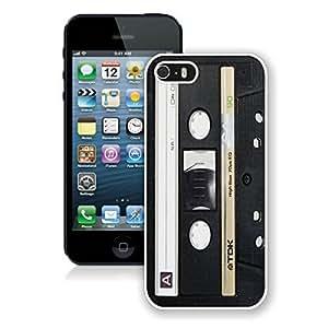 Audio Cassette 6 Iphone 5 5s Case White Cover