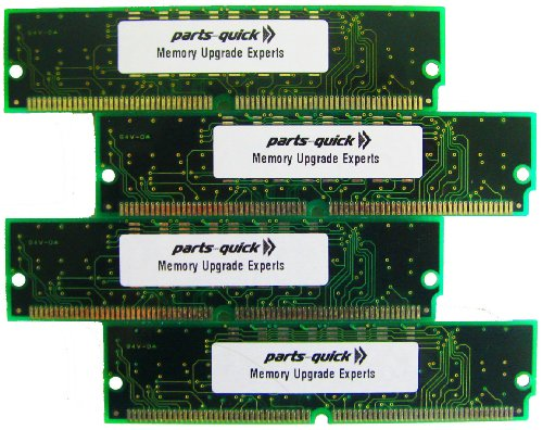 - 256MB 4X64MB Memory for Akai S-5000 S-6000 72 pin SIMM Sampler RAM (PARTS-QUICK BRAND)
