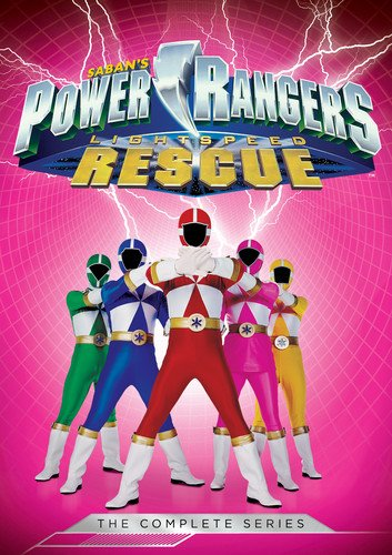 Power Galaxy Rangers (Power Rangers: Lightspeed Rescue: The Complete Series)
